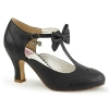 FLAPPER - 11 Black Patent
